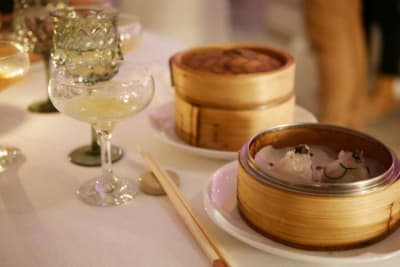 Dim Sum and Cocktail Pairing at Duddell's