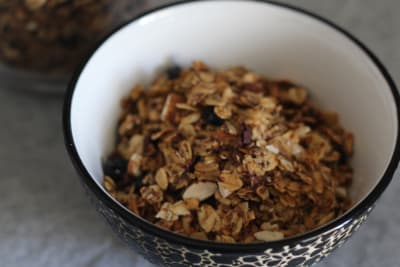 Homemade Granola with a Healthy Twist