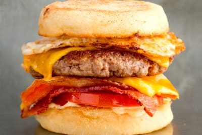 FREE Breakfast Burgers at Double D