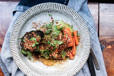 Thai Chilli & Miso Sauce with Roasted Vegetables