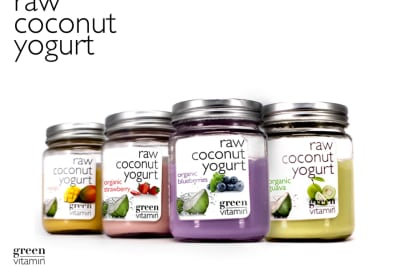 Probiotic Vegan Yoghurts and Kombucha / Kale Kraut / Raw Cacao Butter / Raw Coconut Chips Haul