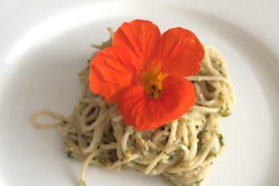 Nasturtium Pesto: Recipe