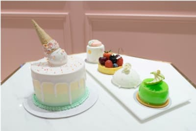 名人熱捧!「利東街」時尚蛋糕店Vive Cake Boutique打造個性婚禮蛋糕