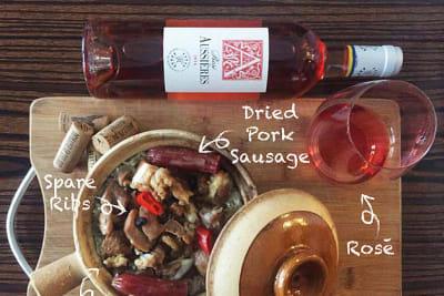 玫瑰紅酒與點心之配對