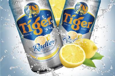 檸檬撞啤酒 Tiger Radler街頭試飲驅悶熱