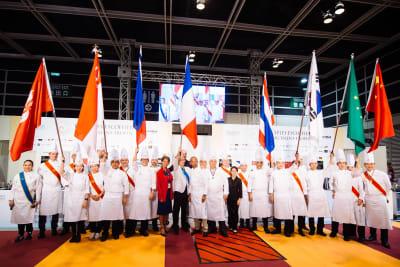 年度「埃科菲青年廚師大賽」亞洲賽港代表獲季軍