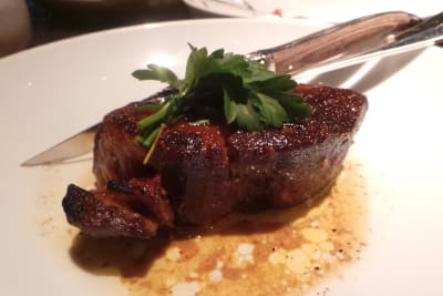 Review: Grand Hyatt Steakhouse's Mangalica Pork Menu