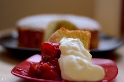 Recipe: Strawberries and Cream Cake