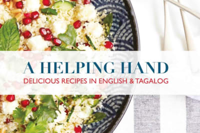 A Helping Hand: A Cookbook in English and Tagalog