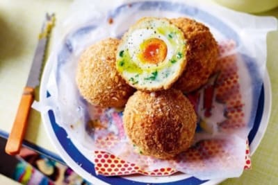 Recipe: Truffle and Parmesan Potato Scotch Eggs