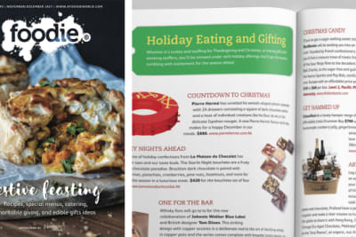 Foodie Magazine November/December 2017 Issue Out Now: Festive Feasting