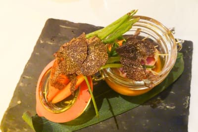 Review: DiVino Group's Black Truffle Dishes for Winter 2018