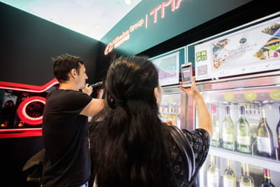 """Alibaba Tmall's """"Future Bar"""" Reboots Wine Consumption for the 21st Century"""