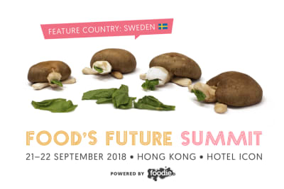 Who's Shaping the Future of Food? Line-Up of Speakers at the Award-Winning Food's Future Summit 2018