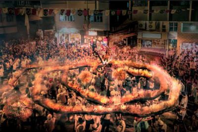 Celebrate Mid-Autumn Festival with the Tai Hang Fire Dragon