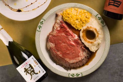 Prime Rib and Sake Pairing at Lawry's The Prime Rib