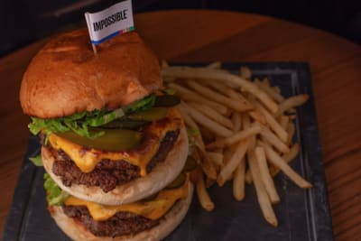 Harley's Gourmet Burgers at Cali-Mex Bar and Grill