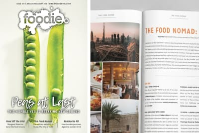 Foodie Magazine January/February 2019 Issue Out Now: Peas at Last