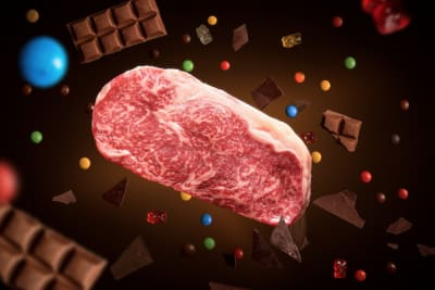 Chocolate-Fed Wagyu at InterContinental Hong Kong's THE STEAK HOUSE