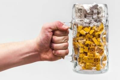 Bar Built from Lego Bricks Coming to Hong Kong