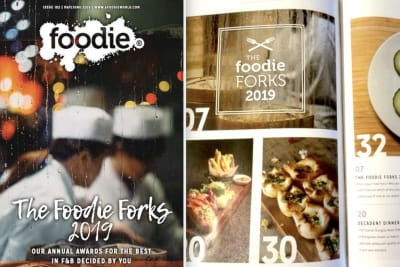 Foodie Magazine May/June 2019 Issue Out Now: The Foodie Forks 2019