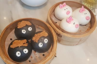 WATCH: New Dim Sum Characters at YUM CHA