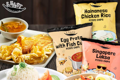 F.EAST Singapore-Style Potato Chips Have Landed in Hong Kong
