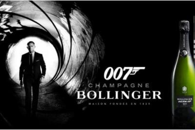 Rewriting Wine 101: James Bond Champagne Bollinger La Grande Année 2008