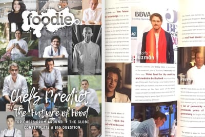 Foodie Magazine August/September 2019 Issue Out Now: Chefs Predict the Future of Food