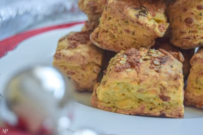 12 Days of Christmas Cookies: Bacon Cheddar Biscuits