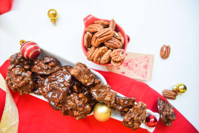 12 Days of Christmas Cookies: Pecan Fudge