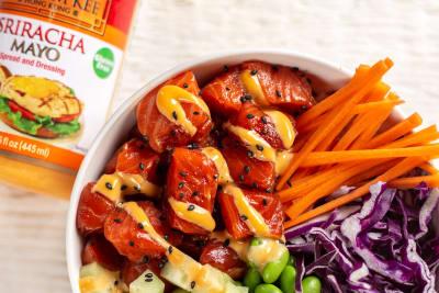 Recipe: Salmon Poke Bowls