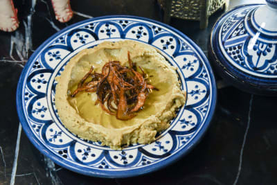 Recipe: Besara (Broad Bean Hummus)