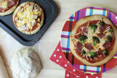 Cooking with Kids: Sushi and Pizza