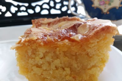 Comforting Cakes Recipe: No-Fat/Flour Almond Cake