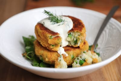 Recipe: Herby Cod and Pea Fishcakes with Lemon and Dill Mayo