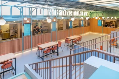 Are High-End Food Halls the New Way to Dine?