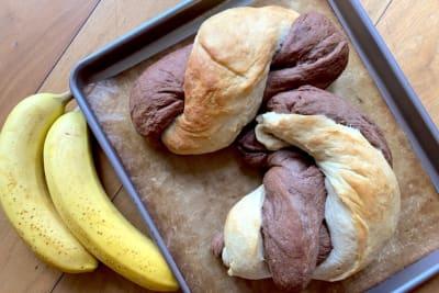 Recipe: Marbled Banana Yeast Bread