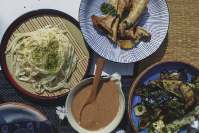 Recipe: Sesame Almond Udon