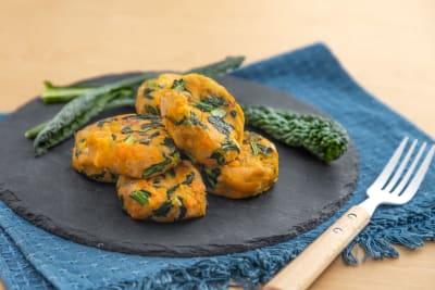 Recipe: Pan-Fried Sustenir Kale and OmniPork Patties