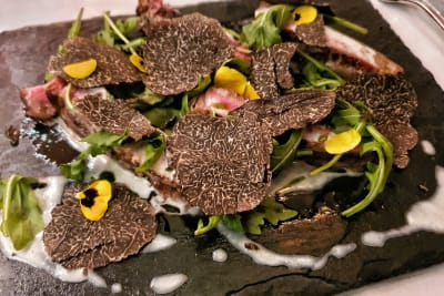 DiVino Wine Bar & Restaurant's Black Truffle Menu with Mystery Wine Pairing