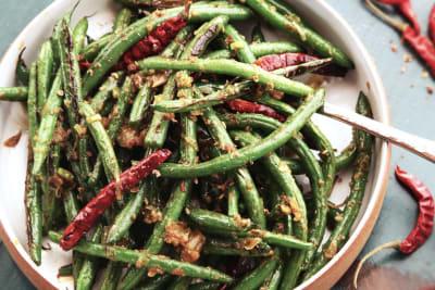 Recipe: Stir-Fried Sichuan Green Beans