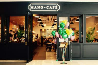 Corner Kitchen Cafe x Mano = Mano Cafe