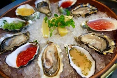 Slurping Oysters at The Walrus