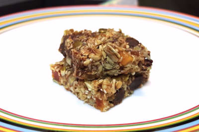 Honey Chocolate Guilt Bars: Recipe