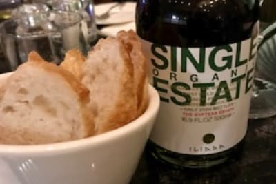 New Menu Review: Six Tablespoons Number 2 Olive Oil Tasting Menu