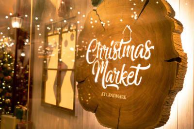 Pop-Up Christmas Market at LANDMARK