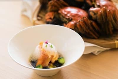Hairy Crab Omakase at Sushiyoshi