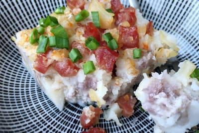 Recipe: Chinese Taro Cake (Wu Tao Gou)