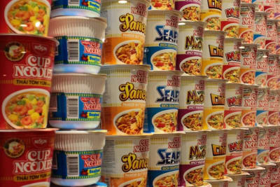 Cup Noodles Museum Opens in Hong Kong